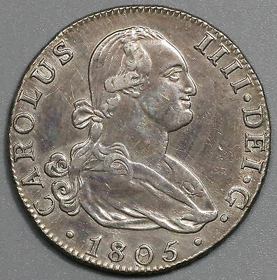 1805/179?-M SPAIN Silver 4 reales Madrid Mint Coin (16032423R)