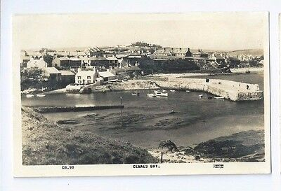 Postcard Cemaes Bay Anglesey Tregele Neuadd Llanbadrig RP
