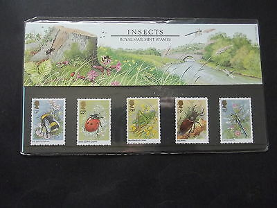 Great Britain - 1985 Insects - Mnh