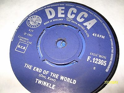 twinkle/the end of the world