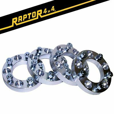 Raptor 4x4 30mm Aluminium Land Rover Discovery 1 Defender Wheel Spacers