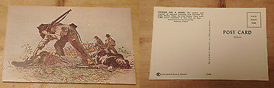 """US Civil War Postcard Cold Harbor """"looking for a friend"""""""