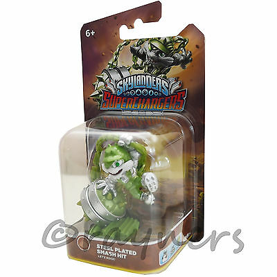 New | Exclusive Steel Plated Smash Hit Skylanders SuperChargers Super Chargers