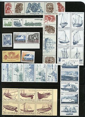 Sweden, Selection Of Mnh Stamps, Fine Very Fine Stamps, Free Shipping