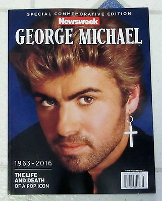 GEORGE MICHAEL 1963-2016 Newsweek Special Edition 98 Pages LIFE & DEATH POP ICON