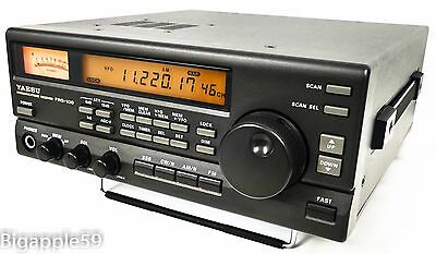 Yaesu FRG-100B Receiver Shortwave AM SSB CW Radio w/ Documents ***BEDSIDE UNIT**