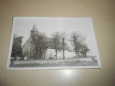 Vintage 1938 Rp Pc - East Wittering Church, Sussex - Vgc