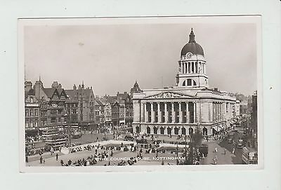 R.p.  Postcard Of The Council House ,nottingham ,see Pic