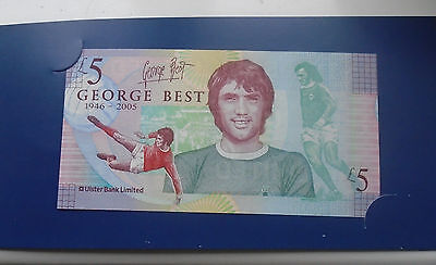 George Best Commemorative £5 note