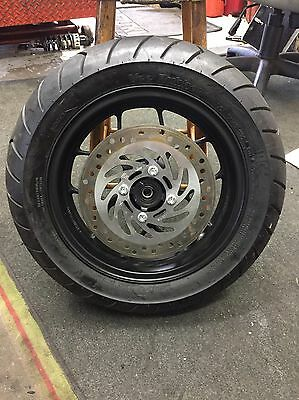 Honda Msx 125 Grom 2016 Front Wheel, Tyre And Brake Disc