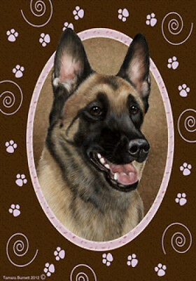 Large Indoor/Outdoor Paws Flag - Belgian Malinois 17251