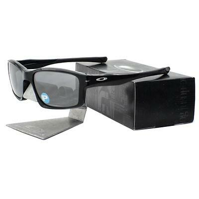 Oakley OO 9247-09 POLARIZED CHAINLINK Polished Black Iridium Mens Sunglasses