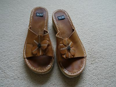 Next Ladies Sandals Size 5 (38)