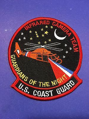 U.s. Coast Guard Guardians Of The Night Infrred Camera Team  Shoulder Patch