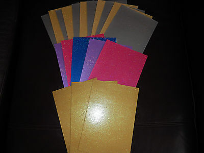 Craft A5 Glitter Card And Paper X 21 Sheets   Uk Only.