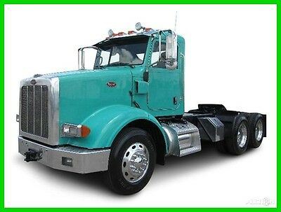 2009 Peterbilt 365 Used Day Cab.  Heavy Axle Weights.  Lease Maintained Truck.
