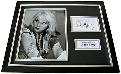 DEBBIE HARRY Signed Autograph FRAMED Photo Display BLONDIE Memorabilia & COA