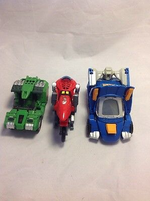 Lot Of 3 Vtech Switch N Go Dinos Transforming Toys