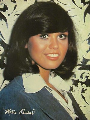 Marie Osmond, The Osmonds, Bay City Rollers, Full Page Vintage Pinup