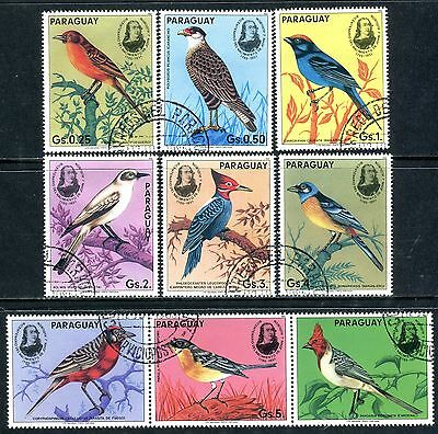 216a - Paraguay - Birds - Used Set + Label