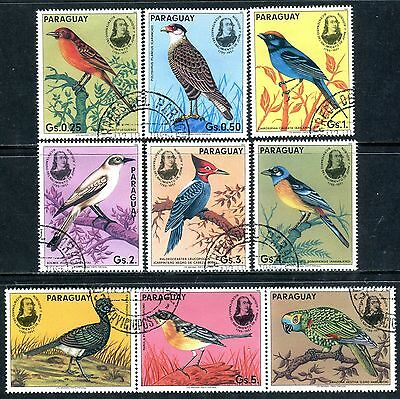 216b - Paraguay - Birds - Used Set + Label