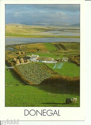 General View Of Donegal, Ireland.