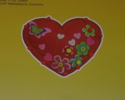 Kleiber Red Heart Felt Embroidery /sewing Craft Kit