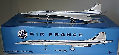 InFlight IFCONCSST002 Aérospatiale/BAC Concorde Air France / BA F-WTSA in 1:200