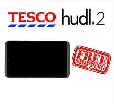 Tesco Hudl 2 Black Replacement Full Screen LCD Digitizer Assembly Used Grade A