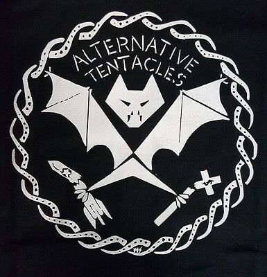 Alternative Tentacles Punk Rock Dead Kennedys Jellobiafr Black Canvas Back Patch