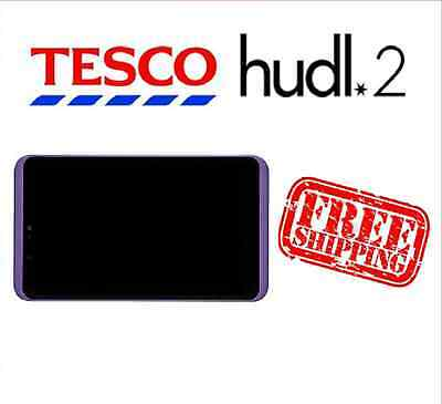 Tesco Hudl 2 Purple Replacement Full Screen LCD Digitizer Assembly Used Grade A