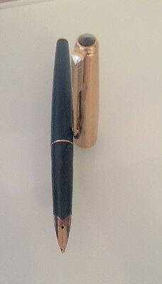 A Parker Fountain Pen With A 14 K Gold Nib