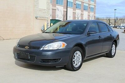 2008 Chevrolet Impala POLICE 2008 Chevrolet Impala Police 3.9L V6 ONE OWNER NO ACCIDENTS NO RESERVE AUCTION