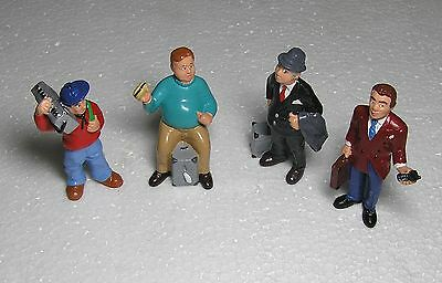 4 X Bullyland Figures G Scale Trains Model Scale People  Railways