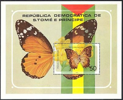 Sao Tome 1979 Butterflies/Insects/Nature/Butterfly/Conservation 1v m/s (s4340)