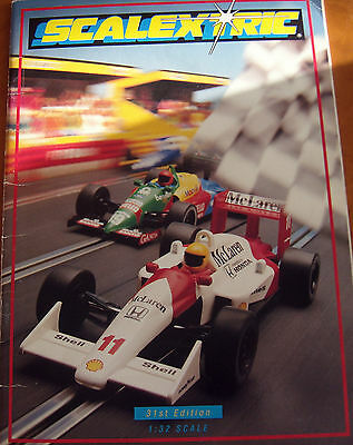 SCALEXTRIC 31st Edition CATALOGUE very good condition