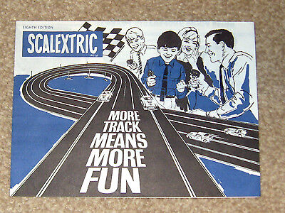 SCALEXTRIC More track booklet 8th edition