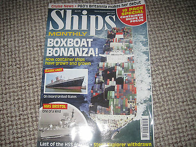 Ships Monthly Shipping Magazinemay 2015 Issue 5 Vol 50 66 Pages Boxboat Bonanza