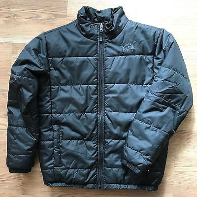 The North Face Boys Black Large 14/16 Puffy Puffer Coat