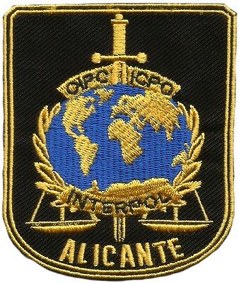 Cuerpo Nacional Policia Interpol Alicante City Spanish National Police Eb01194