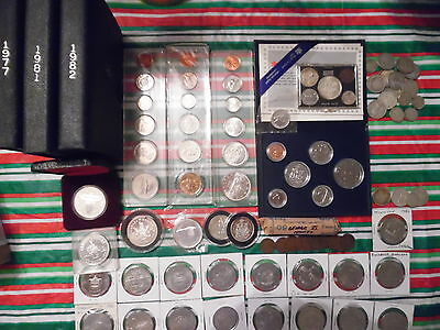 Canada. Estate lot. Mostly silver coins.