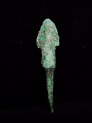 Zurqieh - Al53- Over 3000 Years Old Bronze Long Arrow Head - 1200 B.c