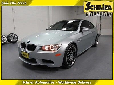 2010 BMW M3 Base Coupe 2-Door 10 BMW M3 Silverstone RWD Novillo Leather Bluetooth 2 Sets Wheels & Tires