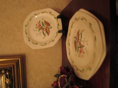 3 Alfred Meakin Floral Side Plates