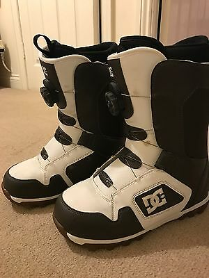 Dc Snowboard Boots Size 8 Boa Fit