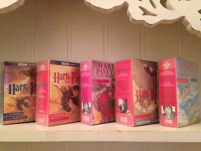 Harry Potter - A COLLECTION Of BBC Audio Cassettes Read By Stephen Fry