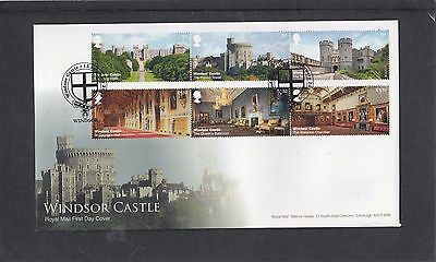GB 2017 Windsor Castle Royal Mail First Day Cover FDC Windsor shield pict h/s