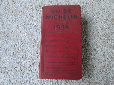 Guide Rouge Michelin 1934