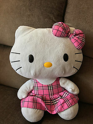 "16"" HELLO KITTY Large TY Soft Plush Collectable Toy as pictured"