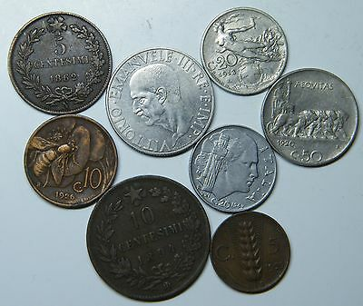WCA Italy Coins 1862 - 1943 Lot # S41